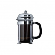 Zaparzacz do kawy 1l Cafe Ole French Press Classic czarny/srebrny/przezroczysty