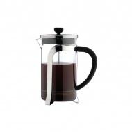 Zaparzacz do kawy 1l Grunwerg French Press TECH srebrno/przezroczysty