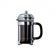 Zaparzacz do kawy 800ml Cafe Ole French Press Classic czarny/srebrny/przezroczysty