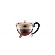 Zaparzacz tłokowy do herbaty Chambord Bodum 1,3l miedziany