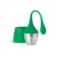 Zaparzaczka do herbaty Hangtea AdHoc mała zielona