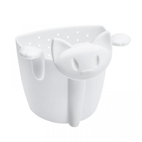 Zaparzaczka do herbaty kotek Koziol Mimmi biała KZ-3236525