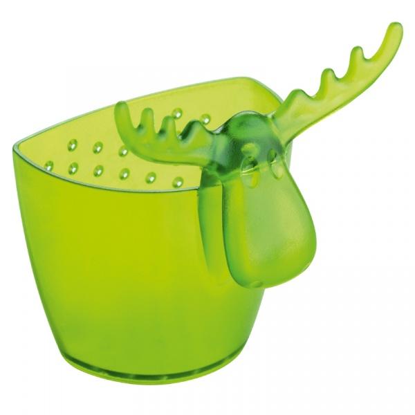 Zaparzaczka do herbaty Koziol Rudolf zielona transparentna KZ-3233017