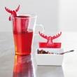 Zaprzaczka do herbaty Koziol Rudolf czerwona KZ-3233013