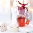 Zaprzaczka do herbaty Koziol Rudolf pomarańczowa KZ-3233509