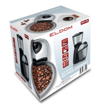 Żarnowy elektryczny młynek do kawy ELDOM MK150 3