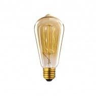 Żarówka Edisona 40W BF19 14x6x6 cm ALTAVOLTA DESIGN złota