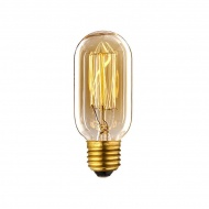 Żarówka Edisona 40W BF27 8x4x4 cm ALTAVOLTA DESIGN złota