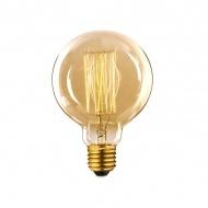Żarówka Edisona 40W BF81 11x8x8 cm ALTAVOLTA DESIGN złota
