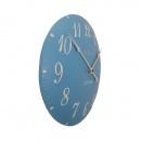 Zegar 34,5 cm NeXtime London Arabic niebieski