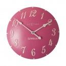 Zegar 34,5 cm NeXtime London Arabic różowy