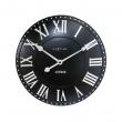 Zegar 34,5 cm NeXtime London Roman czarny 3083ZW