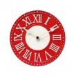 Zegar ścienny 16,5 cm NeXtime London Table czerwony 5187RO