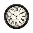 Zegar ścienny 21,5 cm NeXtime Amsterdam czarny 3152ZW