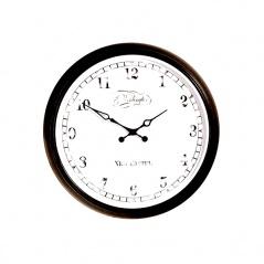 Zegar ścienny 25 cm NEXTIME Aaltje czarny