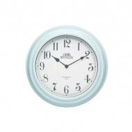 Zegar ścienny 25,5 cm Kitchen Craft Living Nostalgia miętowy