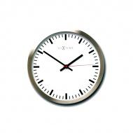 Zegar ścienny 26cm Nextime Stripe