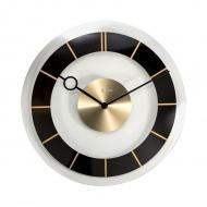 Zegar ścienny 31 cm Nextime Retro czarny
