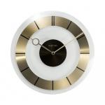 Zegar ścienny 31 cm Nextime Retro złoty