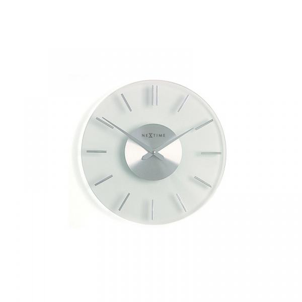 Zegar ścienny 31 cm NEXTIME Stripe 2632