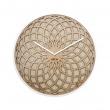 Zegar ścienny 35 cm NeXtime Sun Small beżowy 3150BE