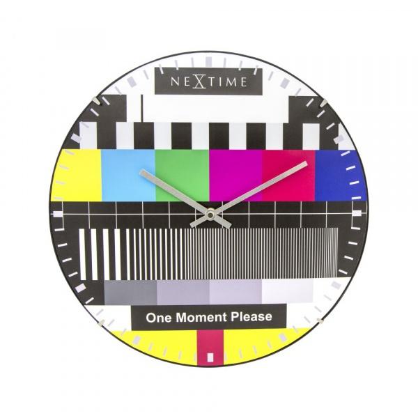Zegar ścienny 35 cm Testpage Dome 3162