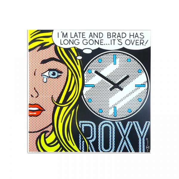 Zegar ścienny 43 x 43 cm NeXtime Cinema Date 8153
