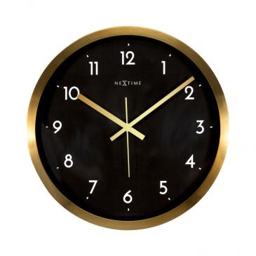 Zegar ścienny 44 cm Nextime Arabic czarny