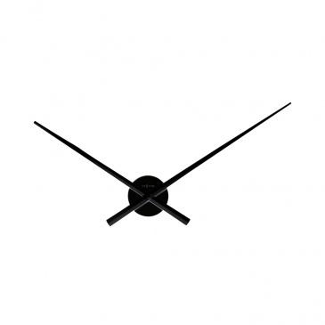 Zegar ścienny 70 cm Nextime Hands czarny
