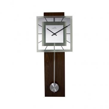 Zegar ścienny 70 cm Nextime Retro Pendulum Square RC