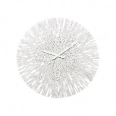 Zegar ścienny biały Koziol Silk