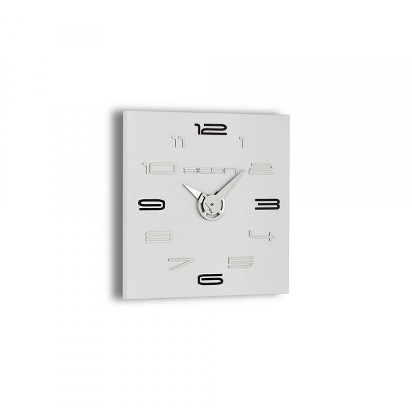 Zegar ścienny Incantesimo Design Aicon biały 119 WB