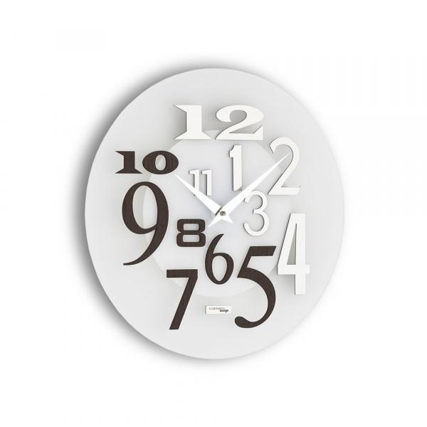 Zegar ścienny Incantesimo Design Free drewno tropikalne 036 W