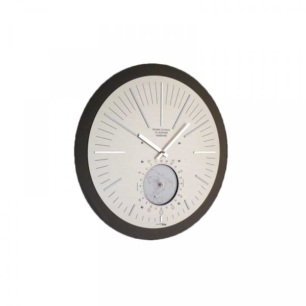 Zegar ścienny Incantesimo Design Hemisphere 120 M