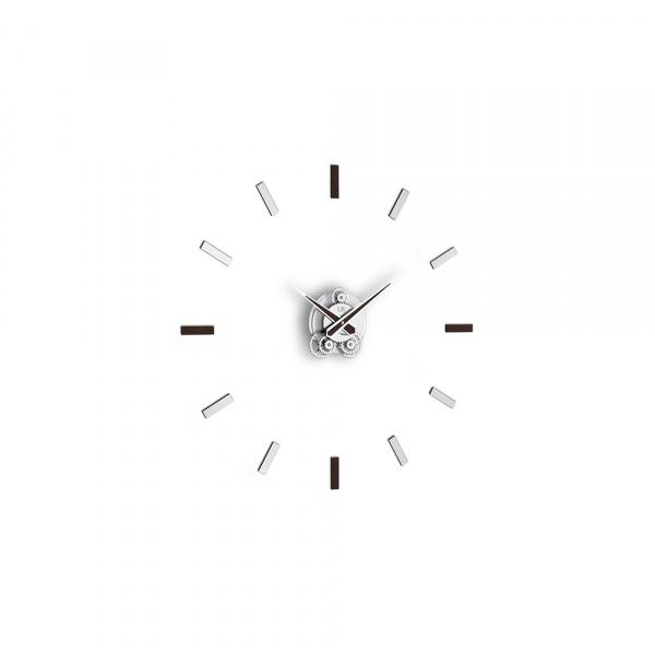 Zegar ścienny Incantesimo Design Illum statico czarny 201 W