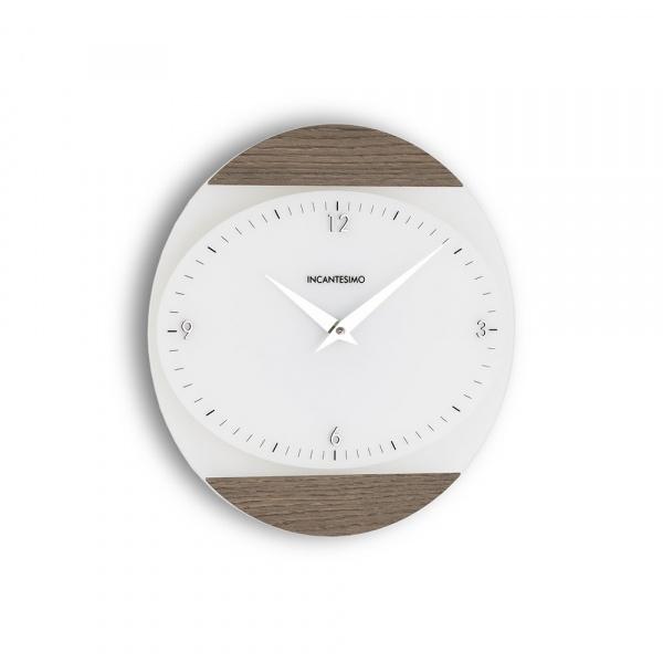 Zegar ścienny Incantesimo Design Logical alevè grey 026 GRA
