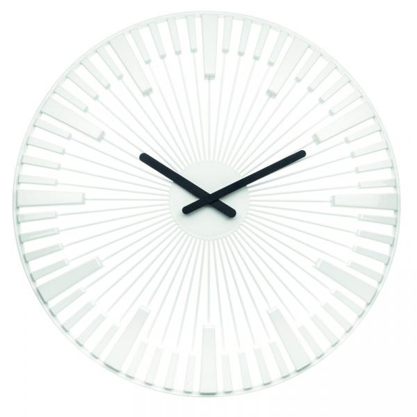 Zegar ścienny Koziol Piano biały KZ-2340525