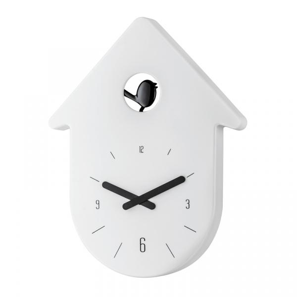 Zegar ścienny Koziol Toc Toc biały KZ-2329101