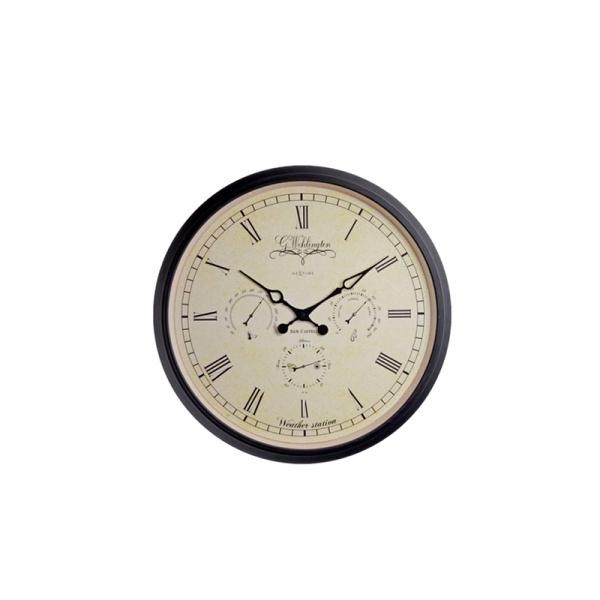 Zegar ścienny Nextime Aaltje Weather Station  2970