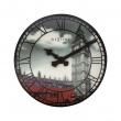 Zegar ścienny Nextime Big Ben czarno-biały 3136