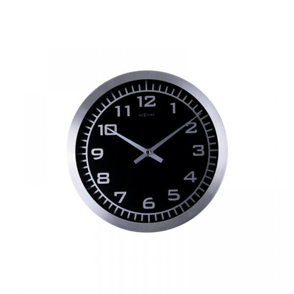 Zegar ścienny Nextime Blacky 2954