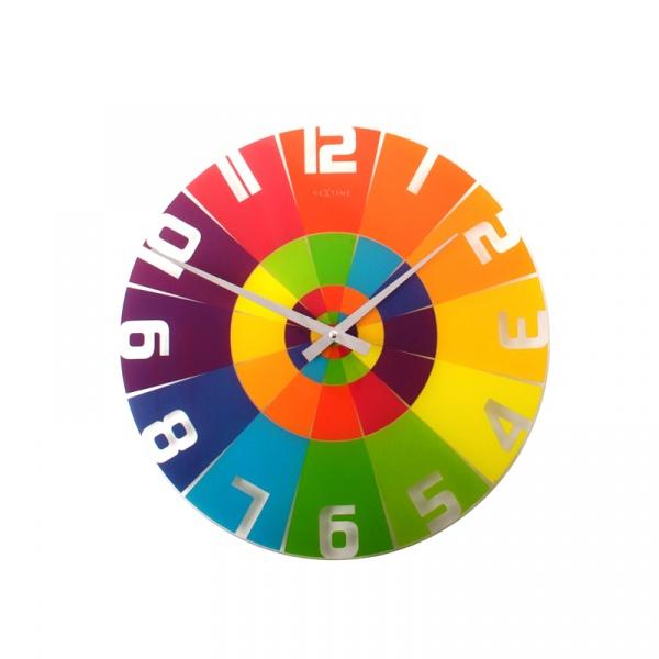 Zegar ścienny Nextime Rainbow 8129