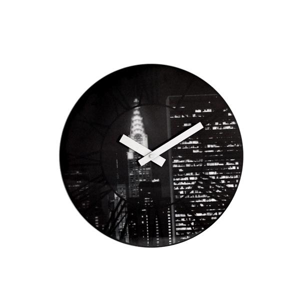 Zegar ścienny Nextime The City 3005