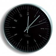 Zegar ścienny Philippi Tempus W2 czarny