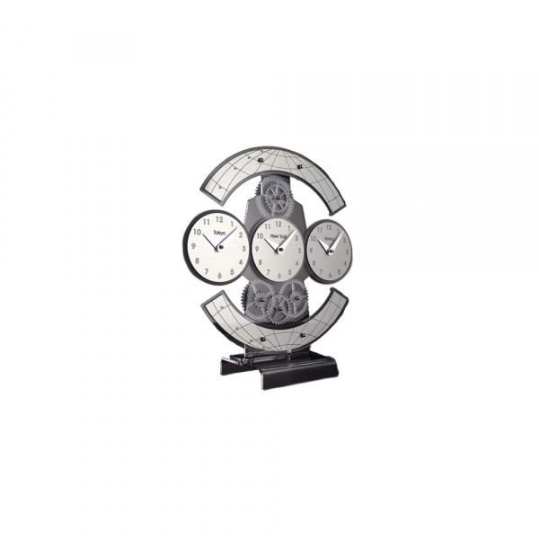 Zegar stołowy Incantesimo Design Genius Trzy zegary 135 M