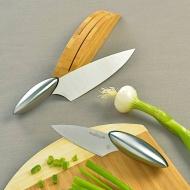 Zestaw 2 stalowych noży do szatkowania
