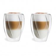 Zestaw 2 szklanek z podwójną ścianką Cristallo 300 ml 25493