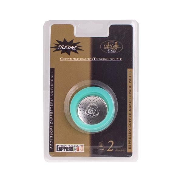 Zestaw 2 uszczelek + filtr do kawiarki G.A.T. 2tc CD-105002RI1