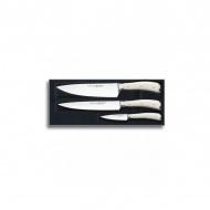Zestaw 3 noży Wüsthof Ikon Classic Creme kremowy