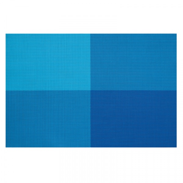 Zestaw 4 szt. podkładek na stół Contento Zarah niebieskie CO-656166